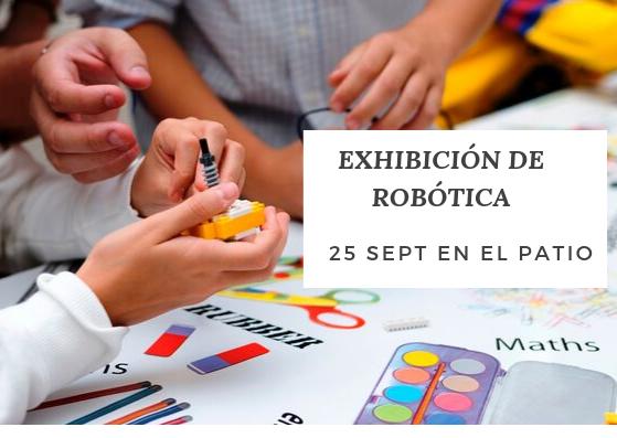 Exhibición de Robótica