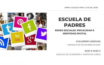 REDES SOCIALES: PRIVACIDAD E IDENTIDAD DIGITAL
