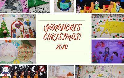 GANADORES CONCURSO DE CHRISTMAS 2020