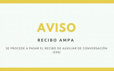 RECIBO AUXILIAR DE CONVERSACIÓN (2ª cuota)