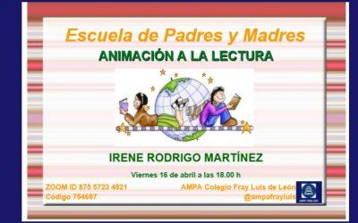Escuela de Padres: Animación a la lectura